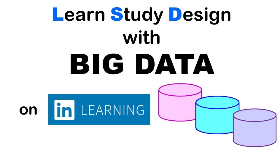 Take a course on LinkedIn Learning to study big data scientific design